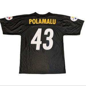 Pittsburgh Steelers Troy Polamalu Football Jersey